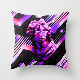 Vivid Statue Throw Pillow