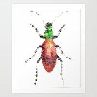 Geometric Entomology V Art Print