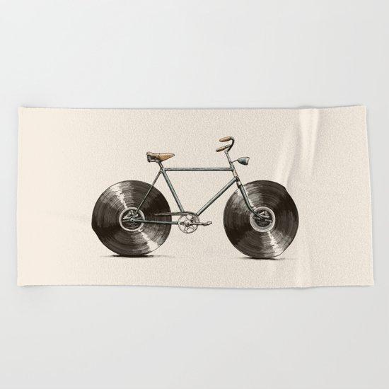 Velophone Beach Towel