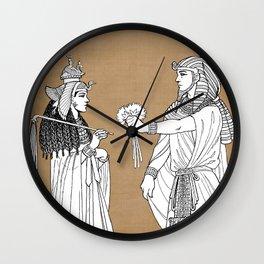 Cleopatra Wall Clock