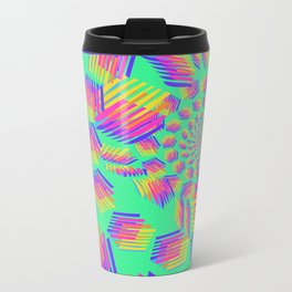Spring breakers - geometric color Metal Travel Mug