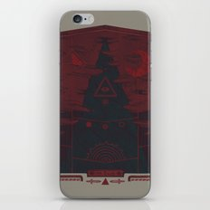 Mount Death iPhone & iPod Skin