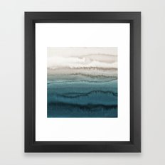 WITHIN THE TIDES - CRASHING WAVES Framed Art Print