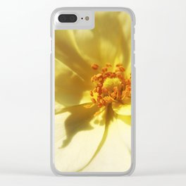 Angel's Flower Clear iPhone Case