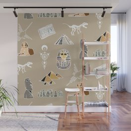 Archeo pattern Wall Mural