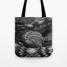 Diamondback Rattlesnake Tote Bag