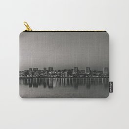 Porto in Black and White Carry-All Pouch
