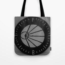 Pianos Become The Teeth Logo on Vinyl Tote Bag