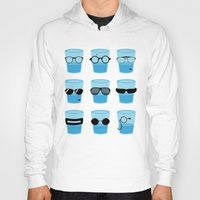 glasses Hoodies featuring Glasses by Zach Terrell