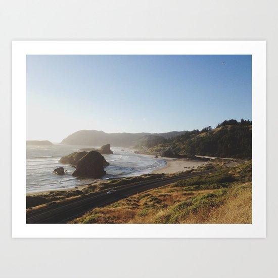 Gold Beach, Oregon Art Print