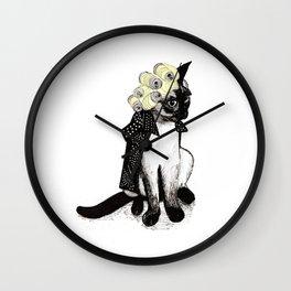 Cat Can  Wall Clock