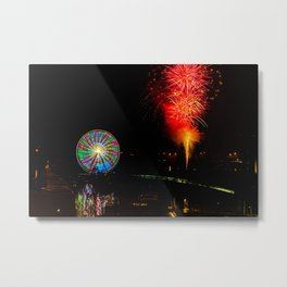 Impeccable timing Metal Print