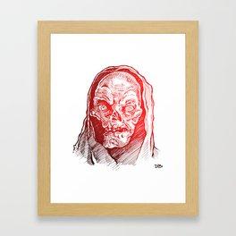 Crypt Framed Art Print