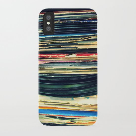 put your records on iPhone Case