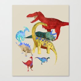 Triassic V2 Canvas Print