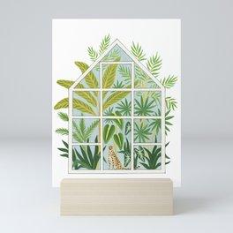 jungle greenhouse Mini Art Print