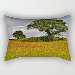 A North Norfolk Field Rectangular Pillow