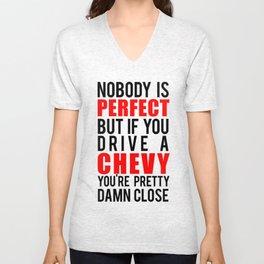 Drive a Chevy Unisex V-Neck