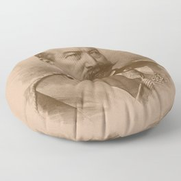 General Philip Sheridan Floor Pillow