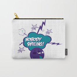 Nobody Smiling Emoji - Volt Carry-All Pouch