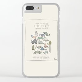 Tootles Clear iPhone Case