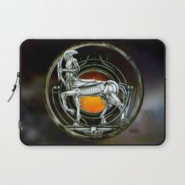 """Astrological Mechanism - Sagittarius"" Laptop Sleeve"