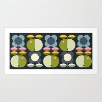 apple repeat Art Print