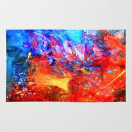 Fire and Ice Rug