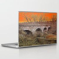virginia Laptop & iPad Skins featuring Virginia Bridge by Andooga Design