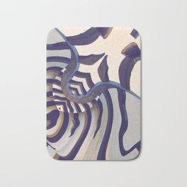 Zebra Dreams Bath Mat
