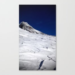 (#38) The Steel Cliffs of Mount Hood Canvas Print
