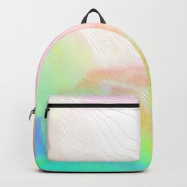 Pastel Pool Hallucination Backpack