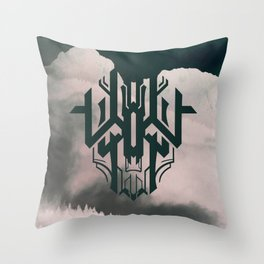 The Haunt Throw Pillow