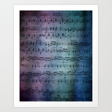 The Symphony Art Print