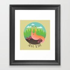 Slug Life #1 Framed Art Print