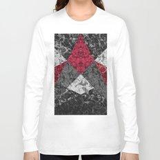 Marble Geometric Background G431 Long Sleeve T-shirt