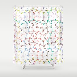 Spring Sprouts Shower Curtain