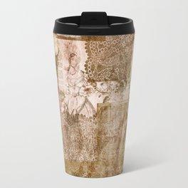 Vintage & Shabby Chic- Victorian ladies pattern Travel Mug