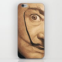 dali iPhone & iPod Skins featuring Dali by Fantastikat