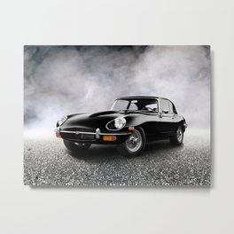 The 68 E-Type Metal Print