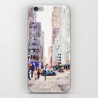 nyc iPhone & iPod Skins featuring NYC by Christine Workman