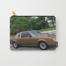 Metallic Brown-gold Grand National Regal T-Type Carry-All Pouch