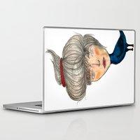 siren Laptop & iPad Skins featuring Siren by KokoOn