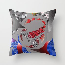 The Scorpio Throw Pillow
