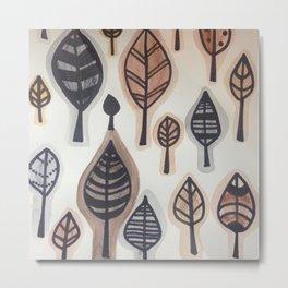 Les feuilles mortes Metal Print