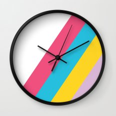 Spring Into It Wall Clock