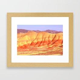 PAINTED HILLS - OREGON Framed Art Print