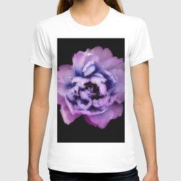 Indulgent Darkness, Violet Peony T-shirt