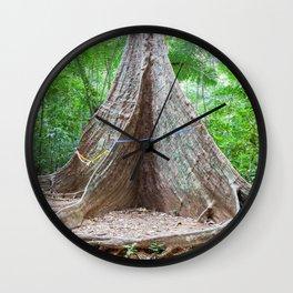 Giant tree Wall Clock