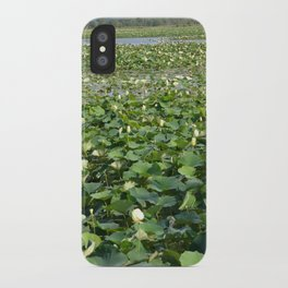 Amana Lilly Pond iPhone Case